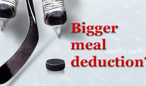 employee meals IRS deduction